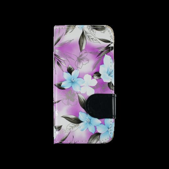 Apple iPhone 5/5S/SE - Preklopna torbica (64) - vijolična