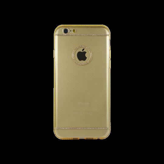 Apple iPhone 6/6S - Gumiran ovitek (TPUD) - vzorec 4 oranžen