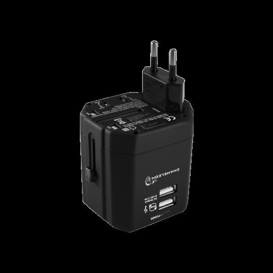 Potovalni adapter 2xUSB 2.5A