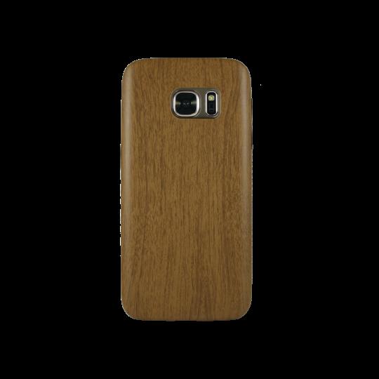 Samsung Galaxy S7 - Gumiran ovitek (27) - temno rjav