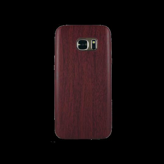 Samsung Galaxy S7 - Gumiran ovitek (27) - temno rdeč