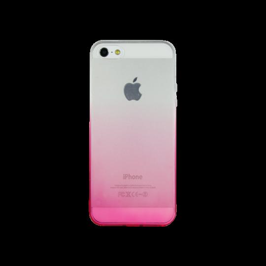 Apple iPhone 5/5S/SE - Gumiran ovitek (TPUO) - roza