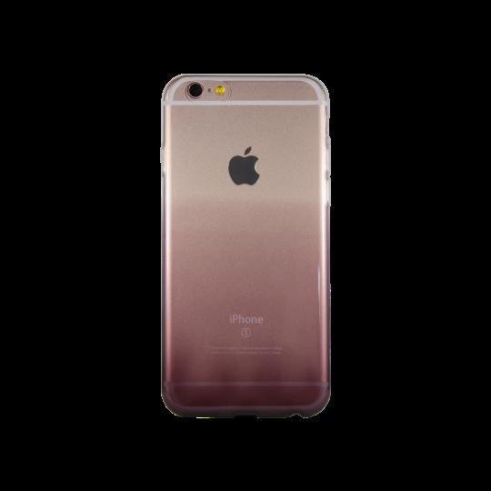 Apple iPhone 6/6S - Gumiran ovitek (TPUO) - kavna