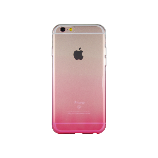 Apple iPhone 6/6S - Gumiran ovitek (TPUO) - roza
