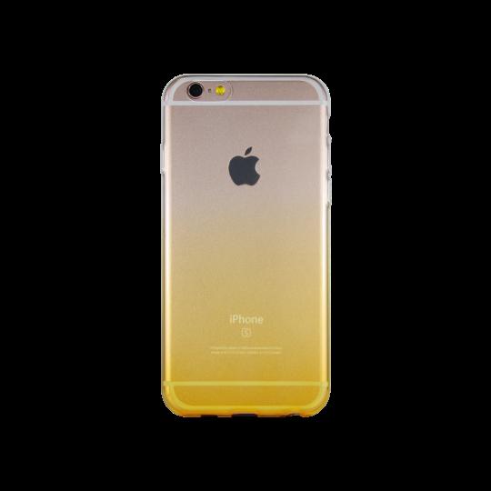 Apple iPhone 6/6S - Gumiran ovitek (TPUO) - rumena