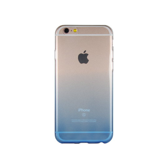 Apple iPhone 6Plus/6SPlus - Gumiran ovitek (TPUO) - modra