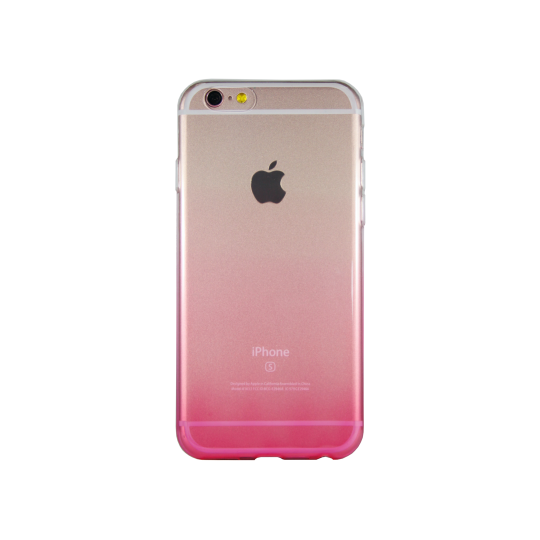 Apple iPhone 6Plus/6SPlus - Gumiran ovitek (TPUO) - roza