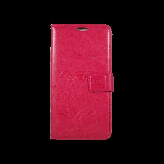 Sony Xperia M5 - Preklopna torbica (WLGO) - rdeča