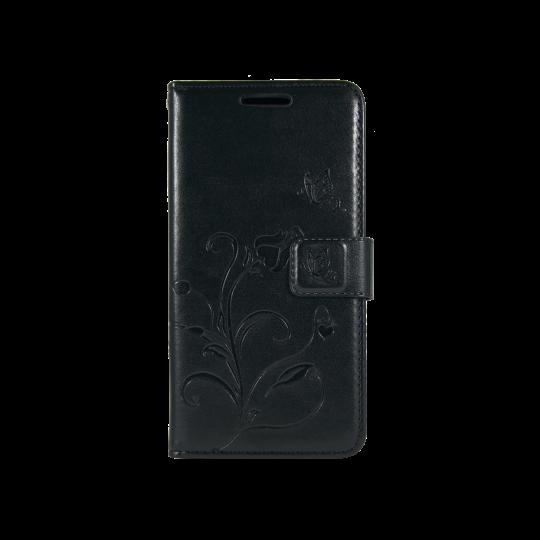 LG K10 - Preklopna torbica (WLGO) - črna