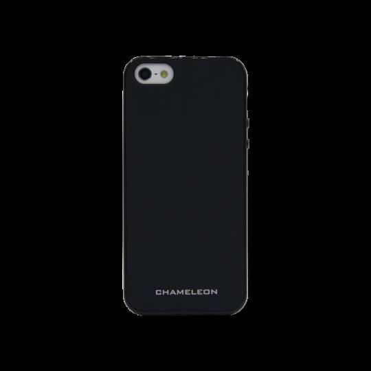 Apple iPhone 5/5S/SE - Gumiran ovitek (TPUM) - črn mat