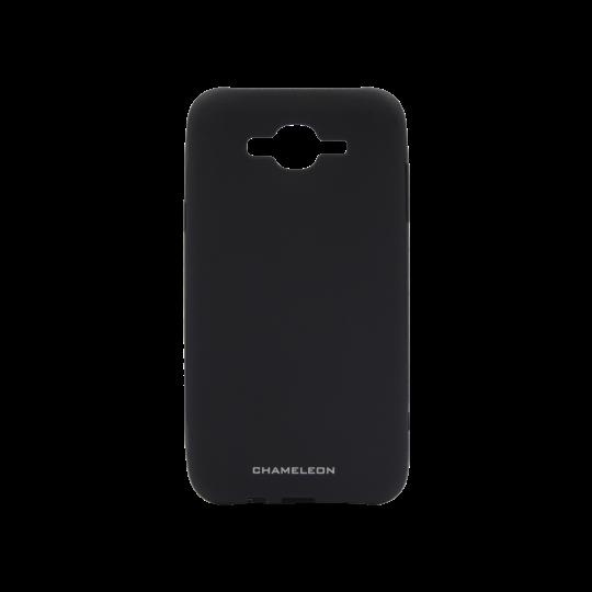 Samsung Galaxy J7 (2016) - Gumiran ovitek (TPUM) - črn mat
