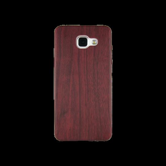 Samsung Galaxy A3 (2016) - Gumiran ovitek (27) - temno rdeč