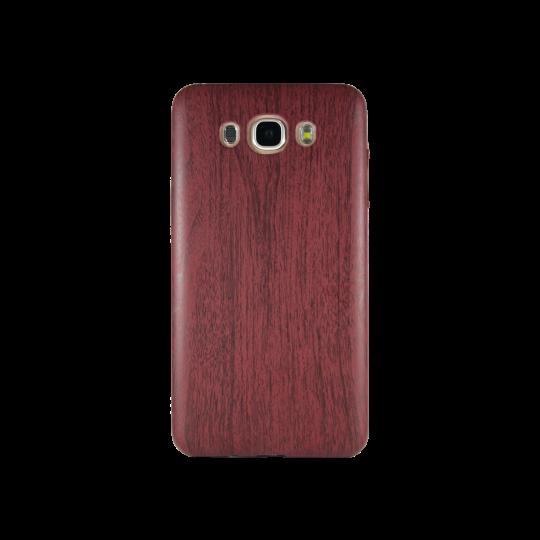 Samsung Galaxy J7 (2016) - Gumiran ovitek (27) - temno rdeč