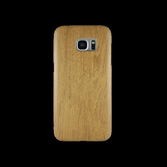 Samsung Galaxy S7 Edge - Gumiran ovitek (27) - temno rjav