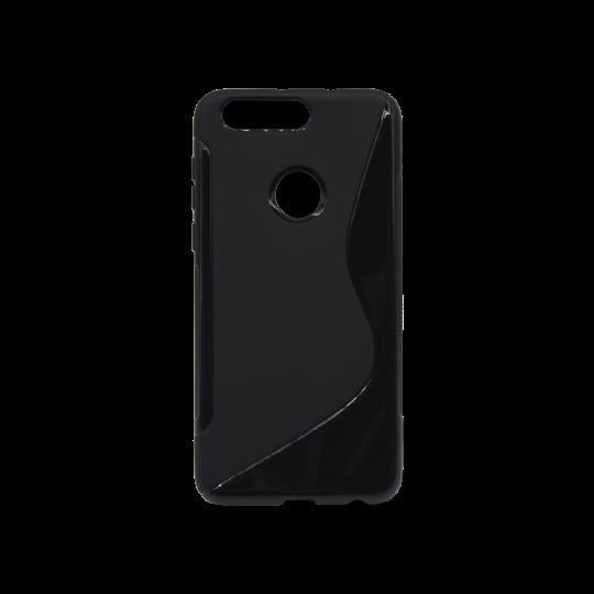 Huawei Honor 8 - Gumiran ovitek (TPU) - črn SLine