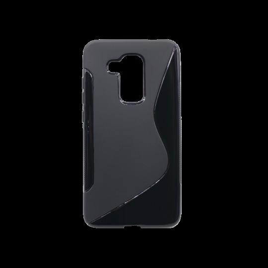 Huawei nova plus - Gumiran ovitek (TPU) - črn SLine