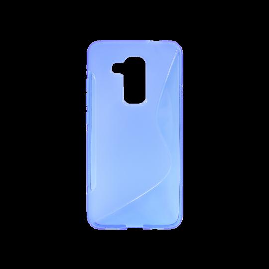 Huawei nova plus - Gumiran ovitek (TPU) - modro-prosojen SLine
