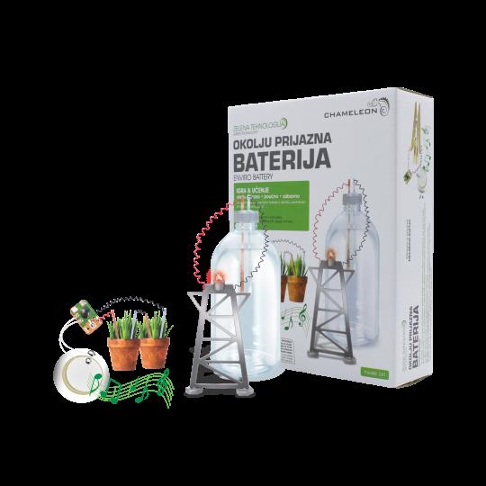 NarediSam - Okolju prijazna baterija