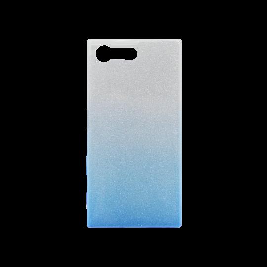 Sony Xperia X Compact - Gumiran ovitek (TPUB) - modra