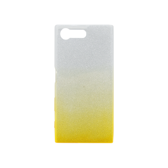 Sony Xperia X Compact - Gumiran ovitek (TPUB) - rumena
