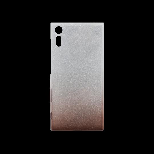 Sony Xperia XZ - Gumiran ovitek (TPUB) - kavna