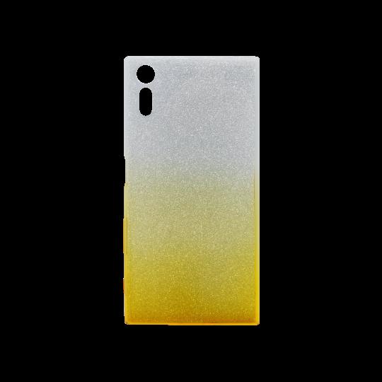 Sony Xperia XZ - Gumiran ovitek (TPUB) - rumena