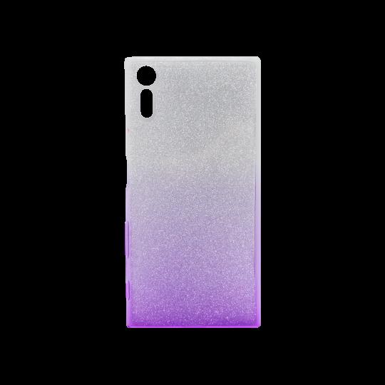 Sony Xperia XZ - Gumiran ovitek (TPUB) - vijolična