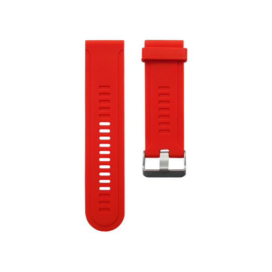 Silikonski pašček Garmin Fenix 3 / 3 HR (26mm) - rdeč