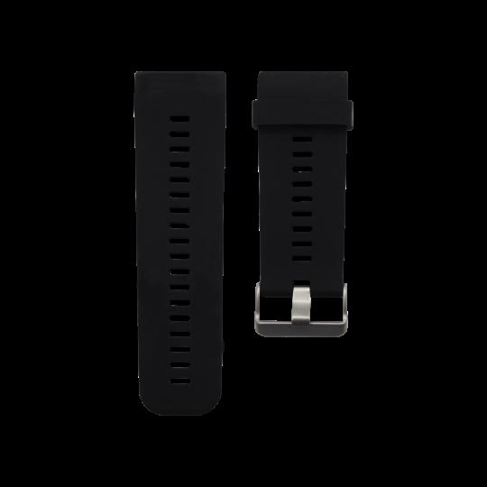 Silikonski pašček Garmin Vivoactive HR - črn