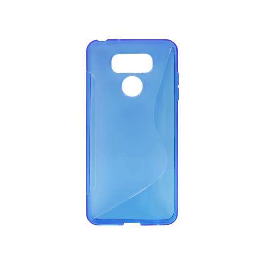 LG G6 - Gumiran ovitek (TPU) - modro-prosojen SLine