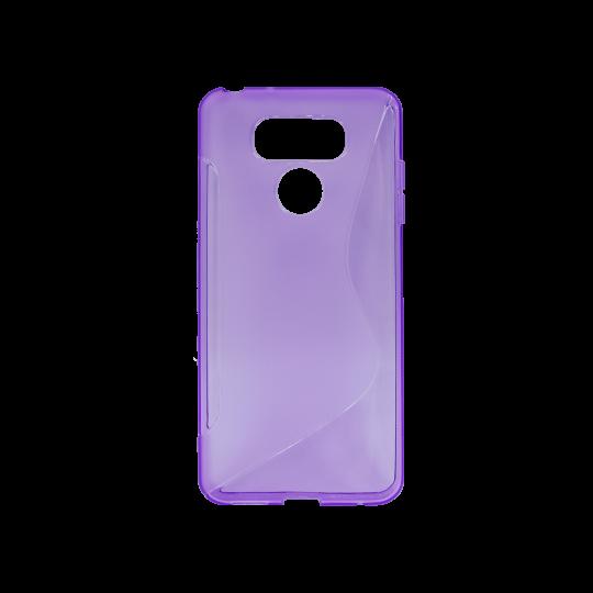 LG G6 - Gumiran ovitek (TPU) - vijolično-prosojen SLine