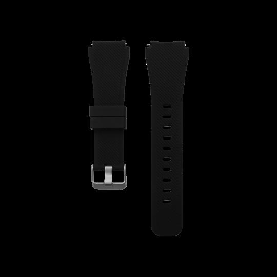 Silikonski pašček Samsung Gear S3 (22mm) - črn