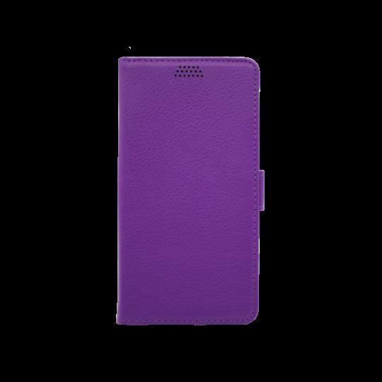 Samsung Galaxy Xcover 4/4S - Preklopna torbica (WLG) - vijolična