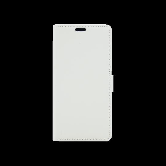 Huawei Nova Smart/Enjoy 6S/Honor 6C - Preklopna torbica (WLG) - bela