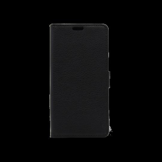 Huawei Nova Smart/Enjoy 6S/Honor 6C - Preklopna torbica (WLG) - črna