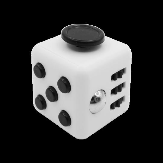 Kocka za sproščanje - belo-črna