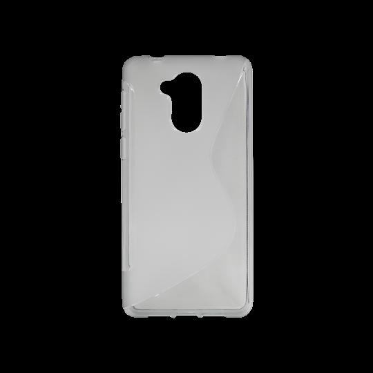 Huawei Nova Smart/Enjoy 6S/Honor 6C - Gumiran ovitek (TPU) - sivo-prosojen SLine