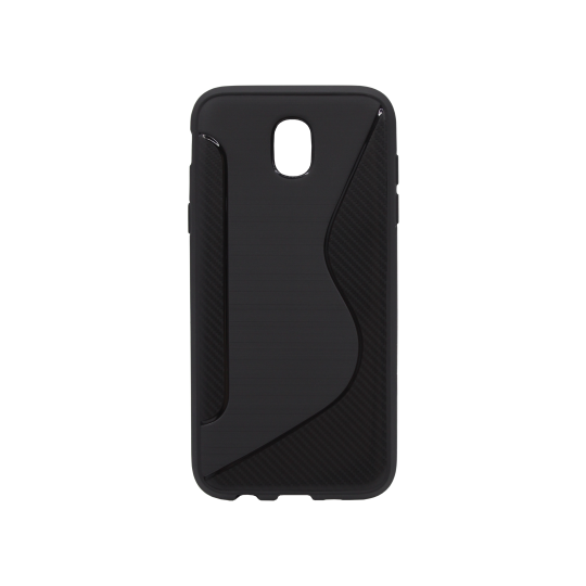 Samsung Galaxy J7 (2017) - Gumiran ovitek (TPU) - črn CS-Type