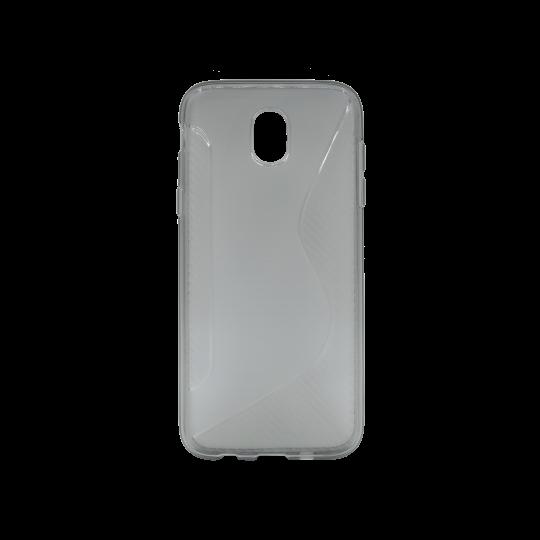 Samsung Galaxy J5 (2017) - Gumiran ovitek (TPU) - sivo-prosojen CS-Type