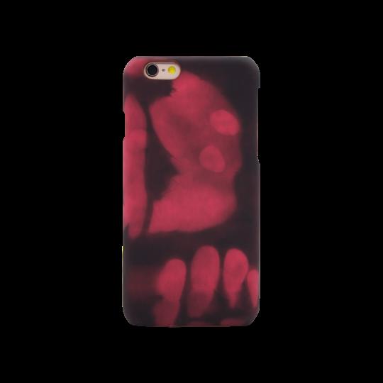 Apple iPhone 6/6S - Okrasni pokrovček (77) - rjavo-roza