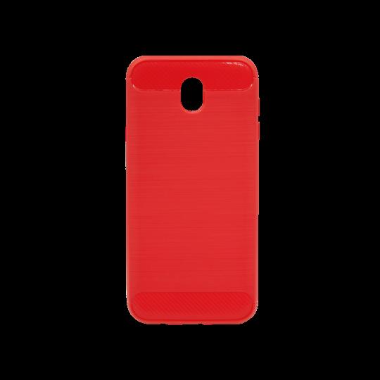 Samsung Galaxy J7 (2017) - Gumiran ovitek (TPU) - rdeč A-Type