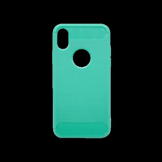 Apple iPhone X / XS - Gumiran ovitek (TPU) - zelen A-Type