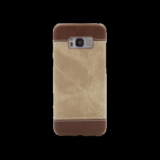 Samsung Galaxy S8 - Okrasni pokrovček (TPL) - rjav
