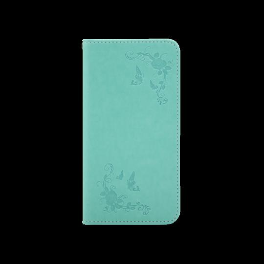 Samsung Galaxy J3 (2017) - Preklopna torbica (WLGO-Butterfly) - zelena
