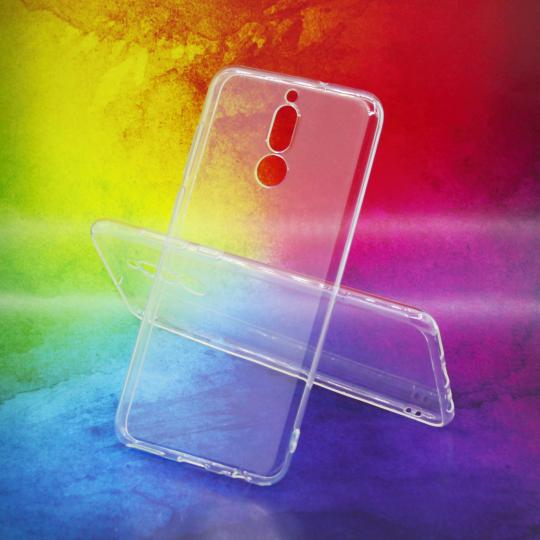 Huawei Mate 10 Lite - Gumiran ovitek (TPUA) - prosojen