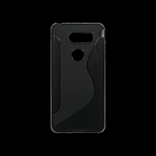 LG V30 - Gumiran ovitek (TPU) - črn CS-Type