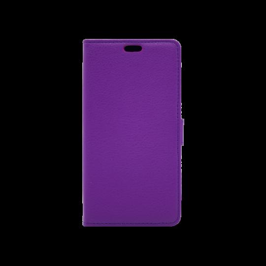 Motorola Moto C - Preklopna torbica (WLG) - vijolična