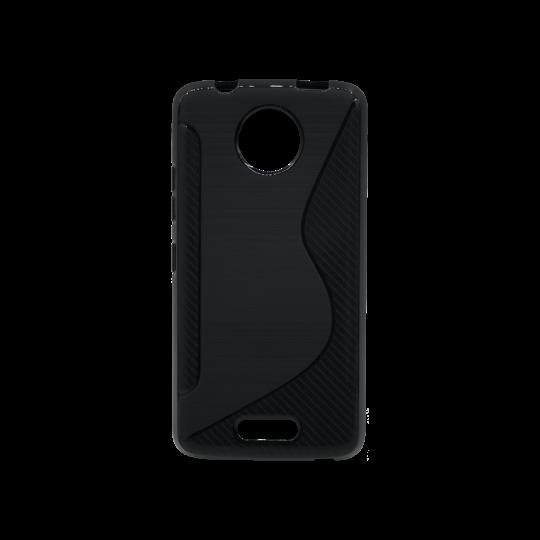 Motorola Moto C - Gumiran ovitek (TPU) - črn CS-Type
