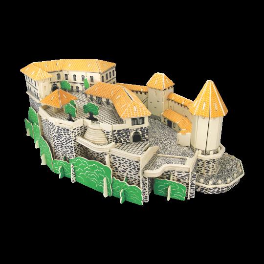 NarediSam - Lesena 3D sestavljanka - Blejski grad