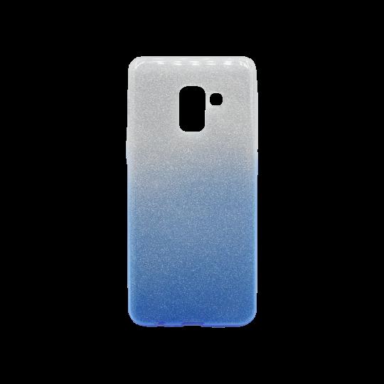 Samsung Galaxy A8 (2018) - Gumiran ovitek (TPUB) - modra